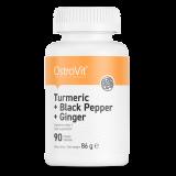 Turmeric + Black Pepper + Ginger