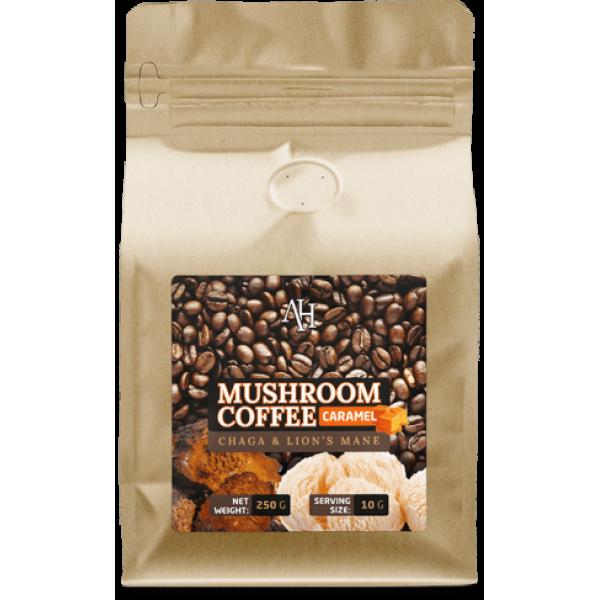 Mushroom Coffee Caramel (Chaga & Lions Mane)