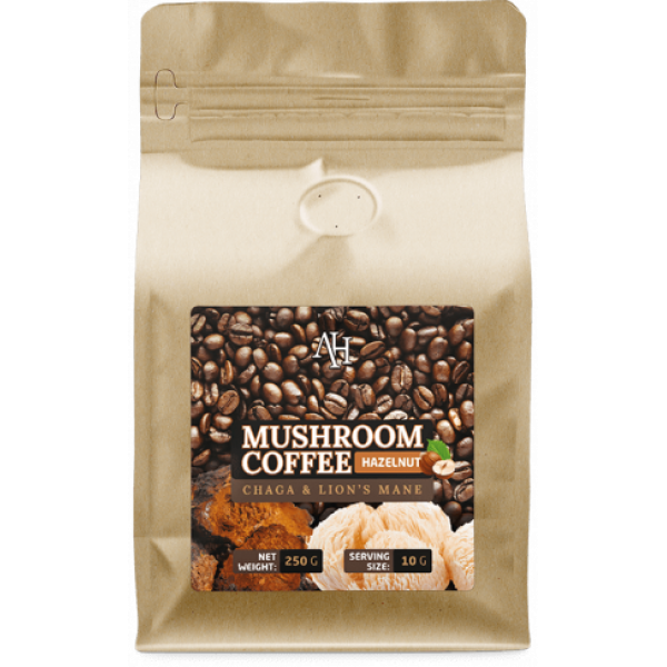 Mushroom Coffee Hazelnut (Chaga & Lions Mane)