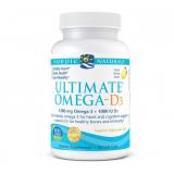 Ultimate Omega D3 (1280mg lemon)