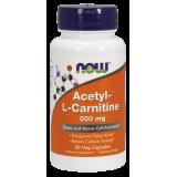 Acetyl-L Carnitine 500 mg Veg Caps ALC