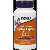 ALA 600 Kwas Liponowy (with Grape Seed & Bioperine) Veg Caps