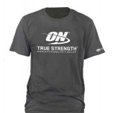 ON T-Shirt Gildan gery dark heather