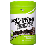 THATS THE WHEY ISOLATE