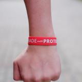 Opaska treningowa na rękę - MADE WITH PROTEIN